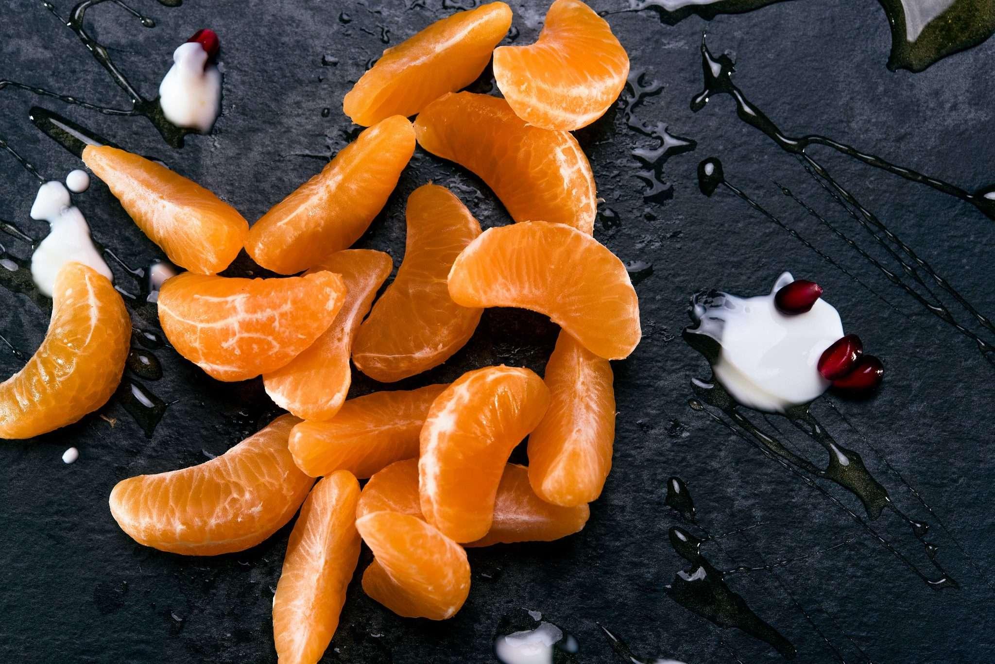 Fotografia still life food mandarino realizzata da Barbara Trincone Fotografo professionista pubblicitario freelance con studio privato a Pozzuoli Napoli, specializzato in Still life, Food, Beverage, Drink