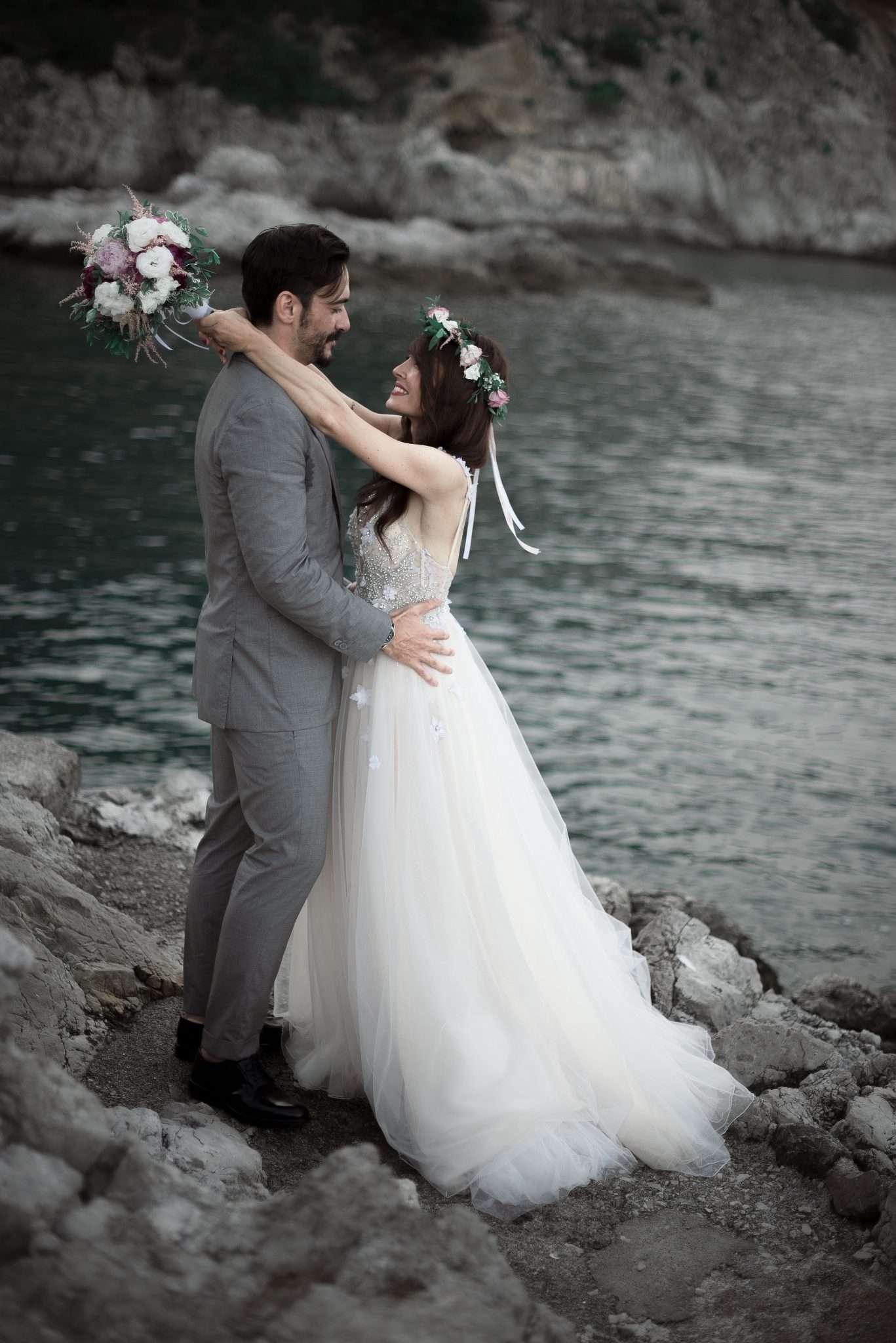 Fotografia wedding reportage Positano realizzata da Barbara Trincone fotografa con studio a Pozzuoli - Napoli
