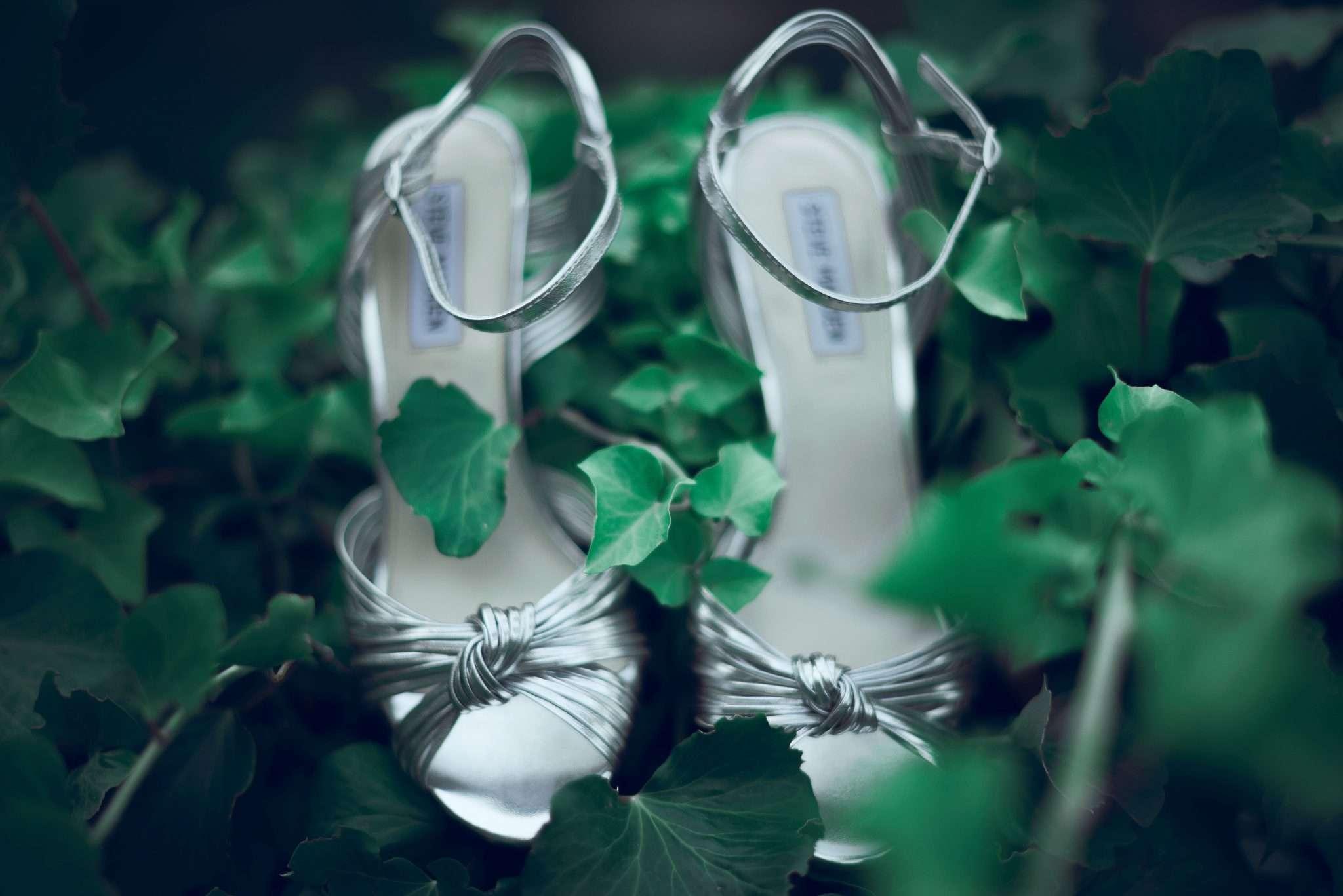 Fotografia scarpe sposa wedding reportage Sorrento realizzata da Barbara Trincone fotografa con studio a Pozzuoli - Napoli