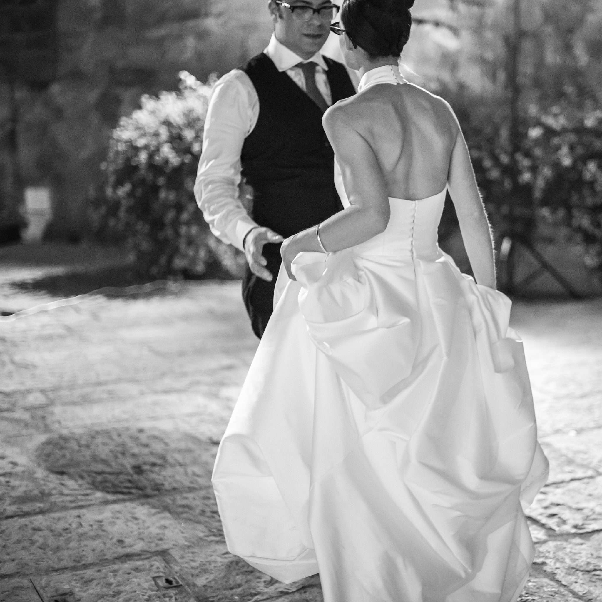 Fotografia first dance wedding reportage realizzata da Barbara Trincone fotografa con studio a Pozzuoli - Napoli
