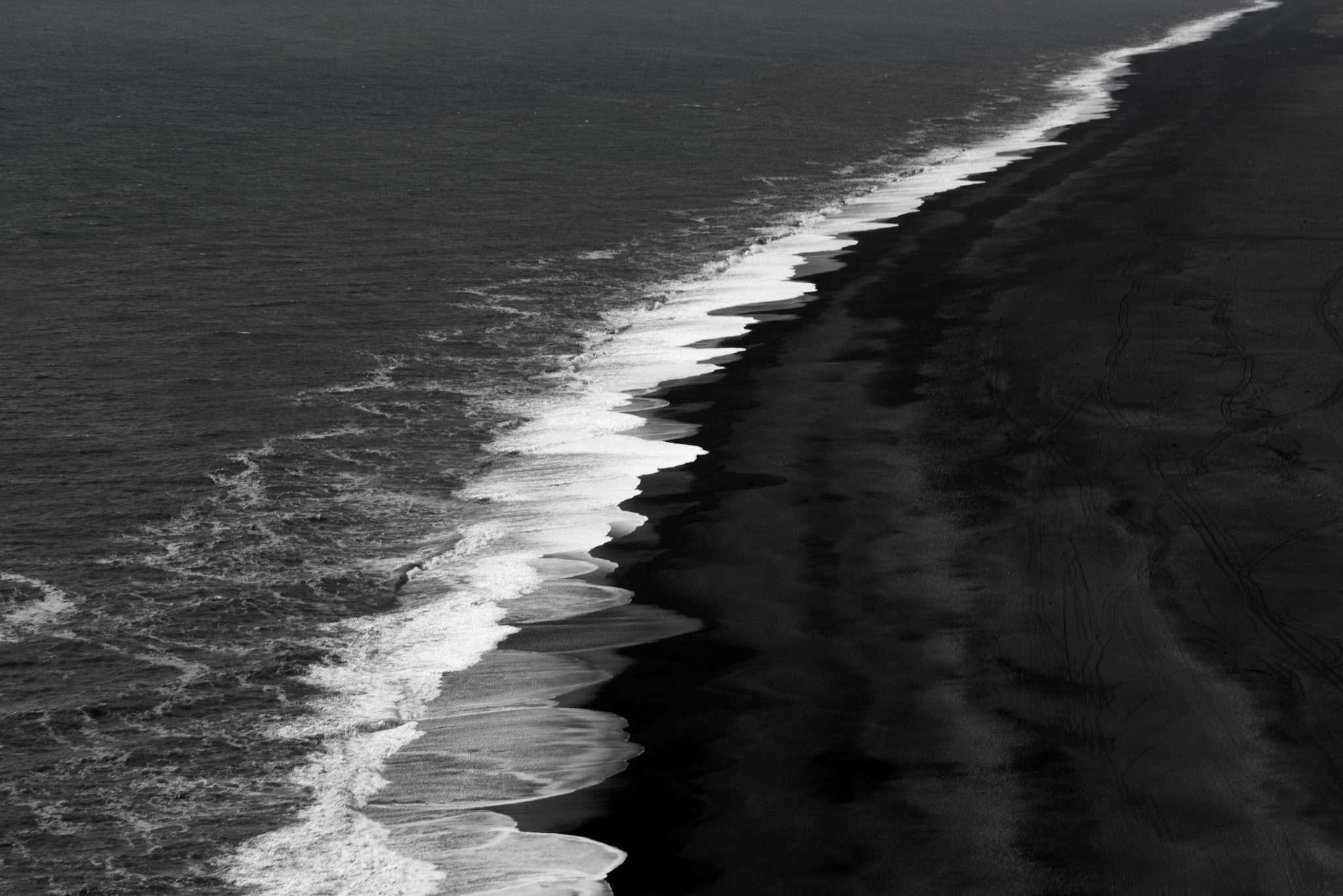 Fotografia del mare del nord in Islanda realizzata da Barbara Trincone, fotografa professionista paesaggista e di reportage con studio privato a Pozzuoli Napoli