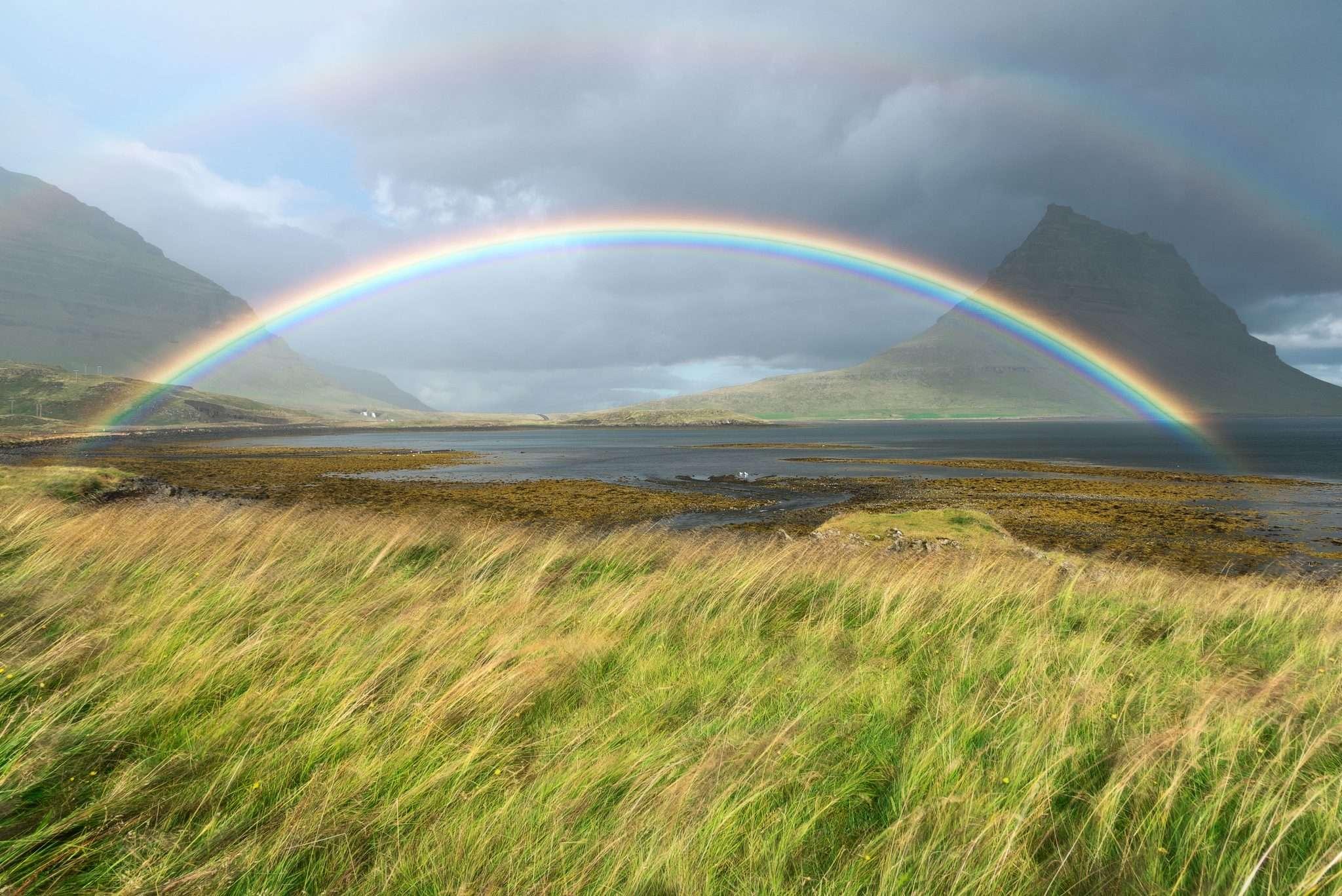 Rainbow photography Iceland, fotografia realizzata da Barbara Trincone, fotografa professionista paesaggista e di reportage con studio privato a Pozzuoli Napoli