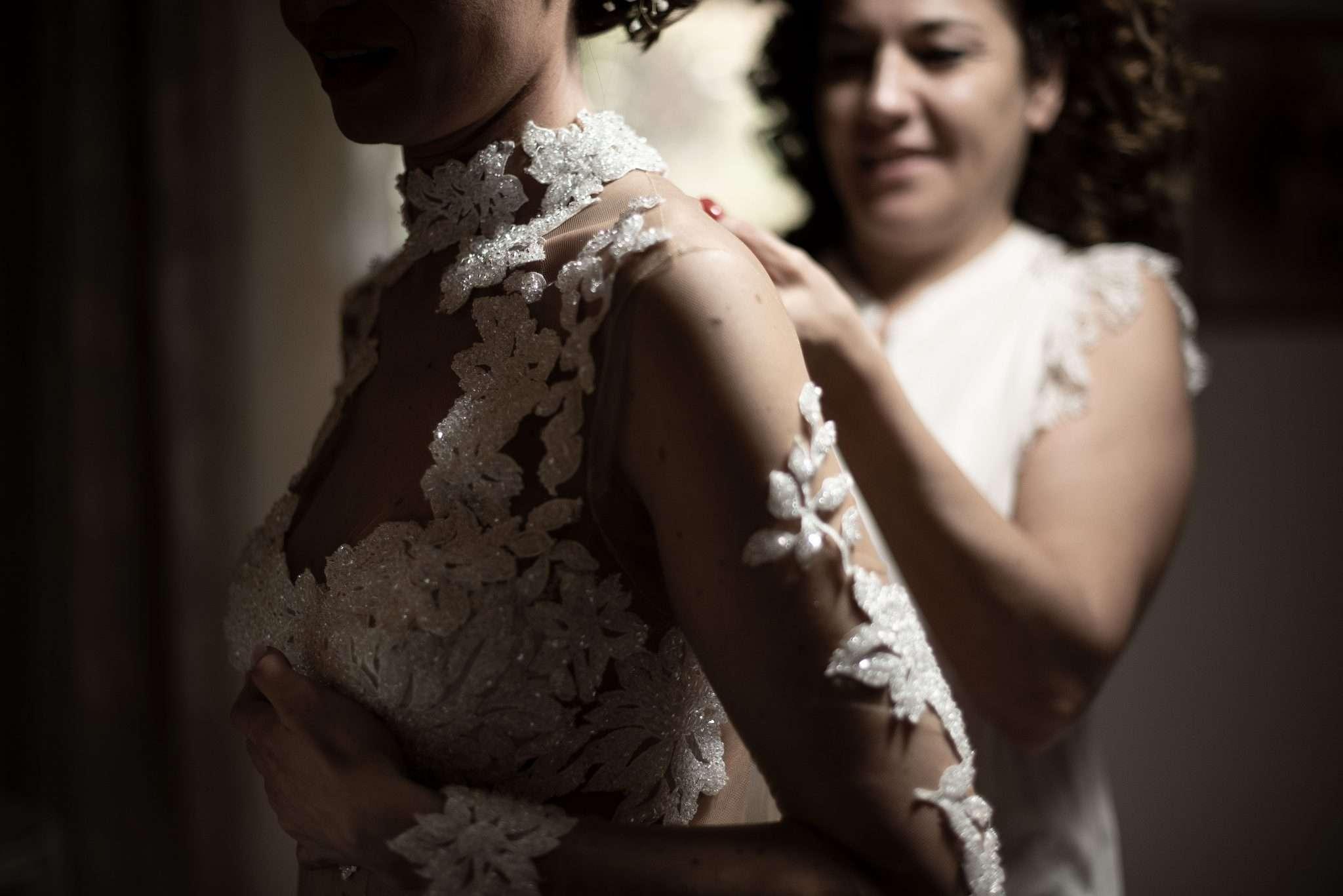 Fotografia sposa wedding reportage realizzata da Barbara Trincone fotografa con studio a Pozzuoli - Napoli