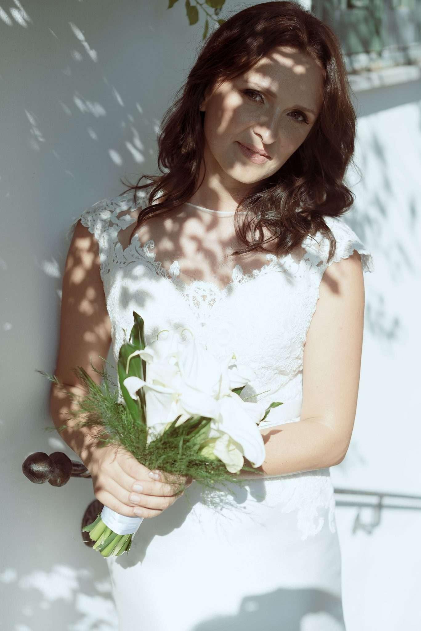 Fotografia portrait bride russia realizzata da Barbara Trincone fotografa con studio a Pozzuoli - Napoli