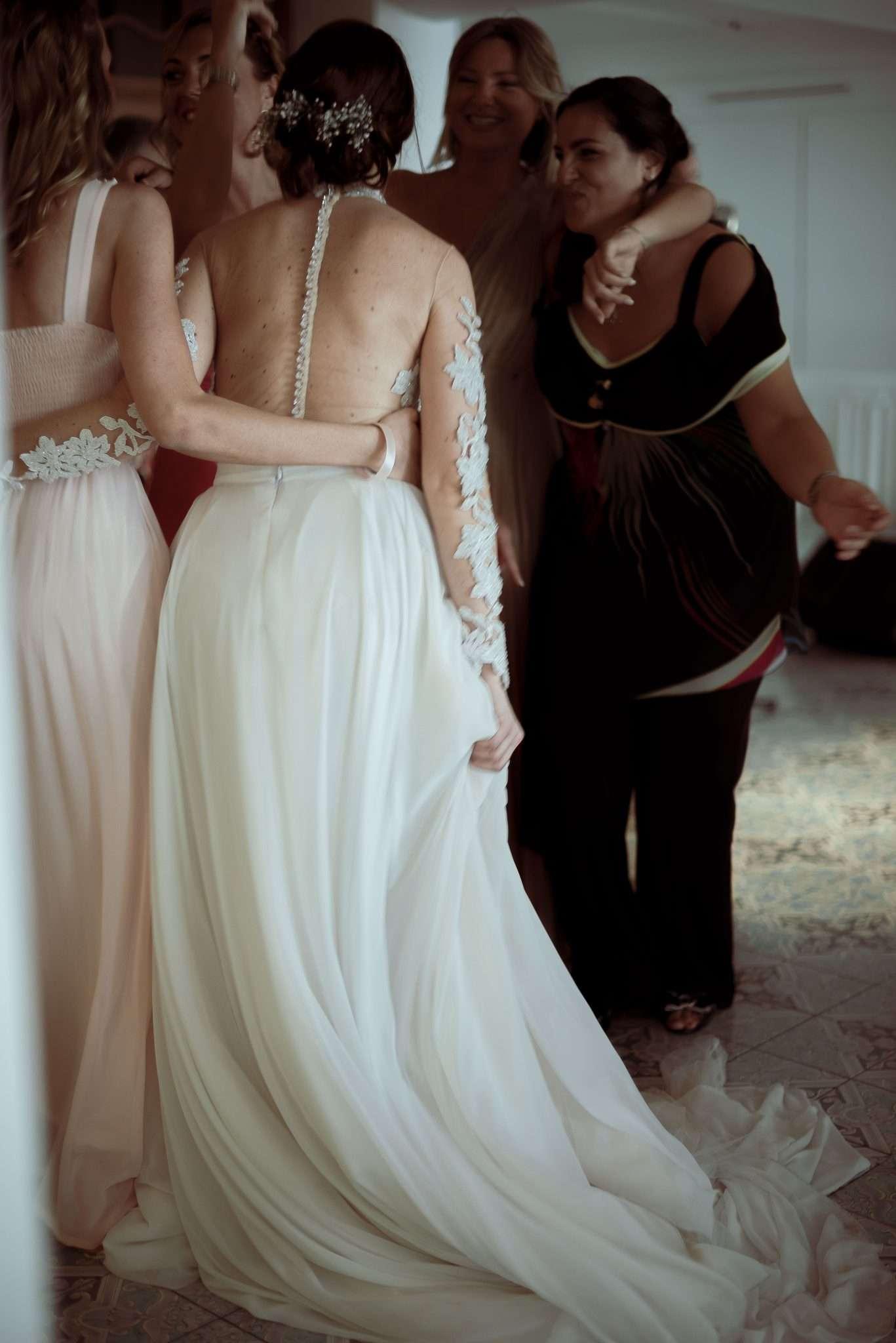 Wedding bride photography realizzata da Barbara Trincone fotografa professionista con studio a Pozzuoli - Napoli