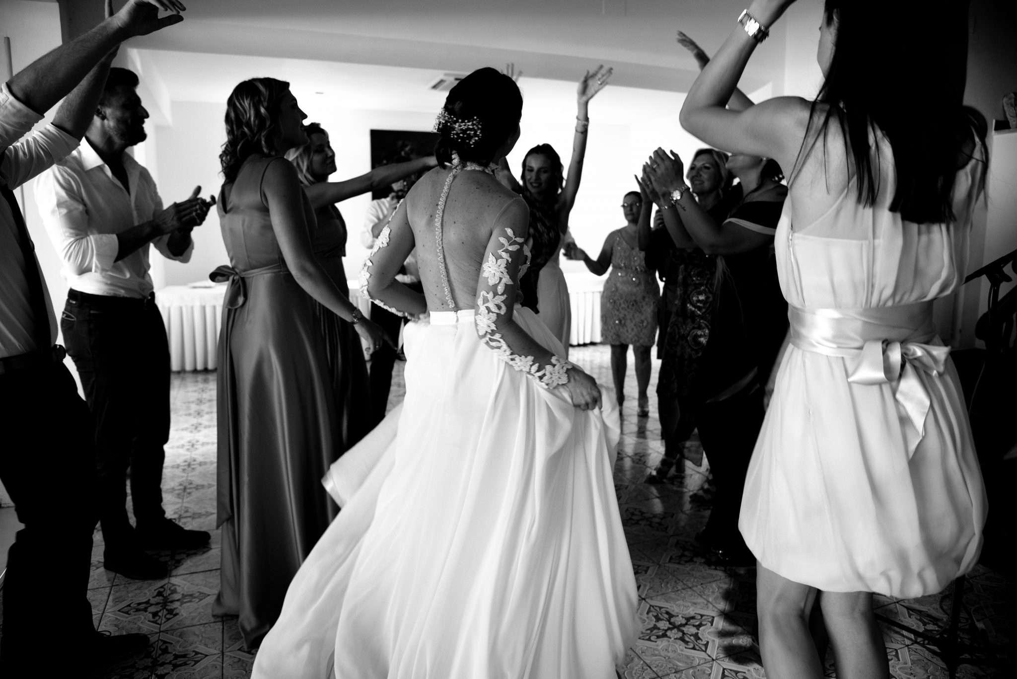Fotografia ballo sposi wedding reportage Amalfi realizzata da Barbara Trincone fotografa professionista con studio a Pozzuoli - Napoli