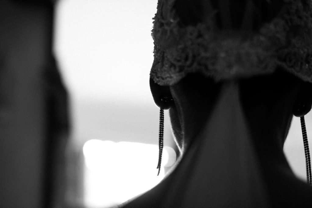 Fotografia nuca sposa Valentina