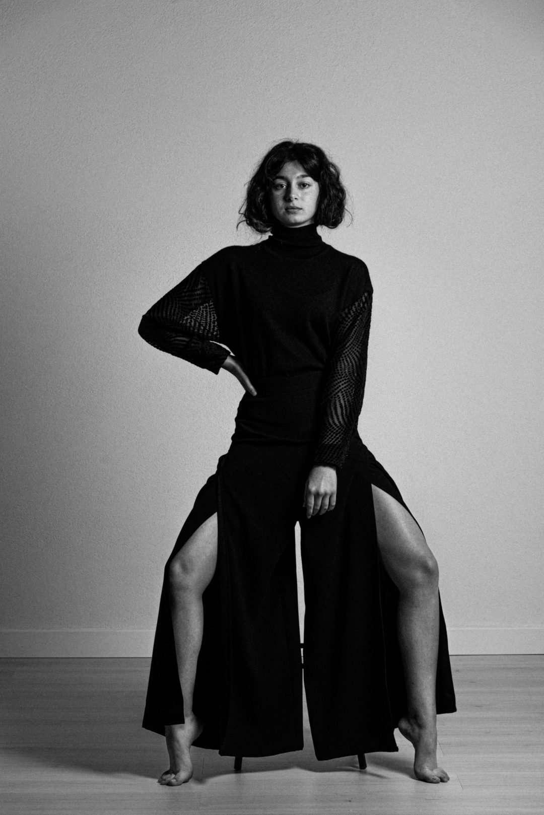Fotografia ritratto bianco e nero napoli agenzia modelle