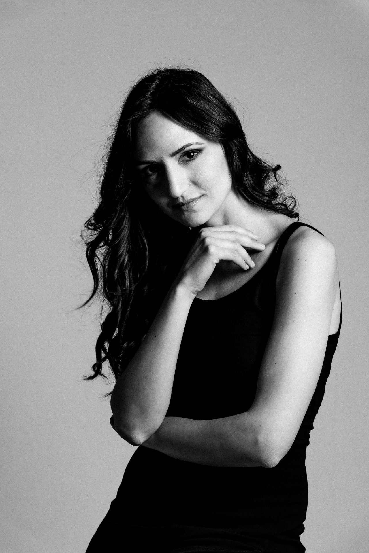 Fotografia bianco e nero Napoli Portrait di Barbara Trincone Fotografo ritrattista professionista, esegue servizi di creazione ed ampliamento book per modelle/i e attori